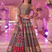 Pakistani Bridals Mehndi Dresses Ideas 2019 (18)