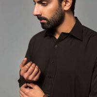 Gul Ahmed Men's Unstitched Winter Dresses Collection 2019 (45)