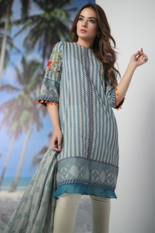 Alkaram New Lawn Collection For Spring Summer