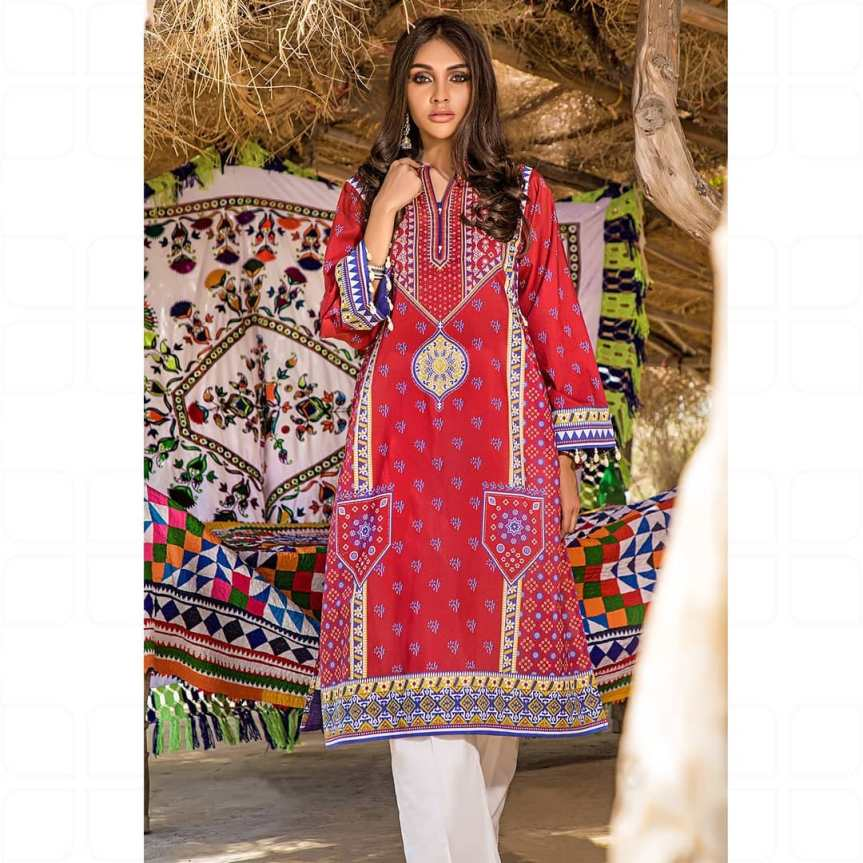 GulAhmed Women's Eid Dresses Collection 2020 (10)