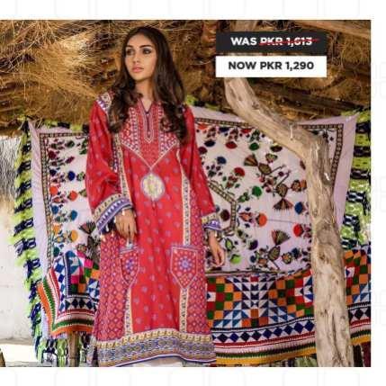 GulAhmed Women's Eid Dresses Collection 2020 (12)