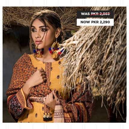 GulAhmed Women's Eid Dresses Collection 2020 (18)