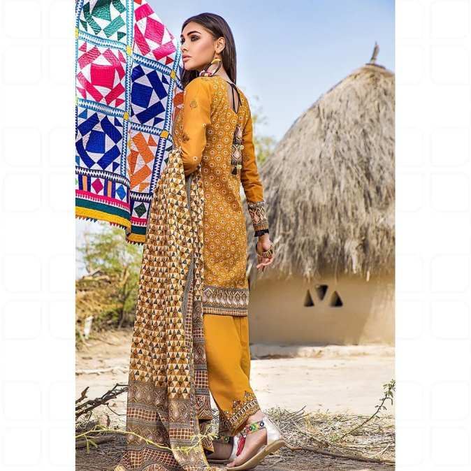 GulAhmed Women's Eid Dresses Collection 2020 (21)