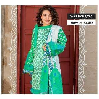 GulAhmed Women's Eid Dresses Collection 2020 (27)