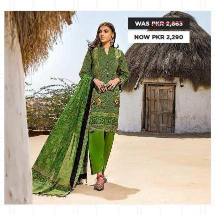 GulAhmed Women's Eid Dresses Collection 2020 (9)