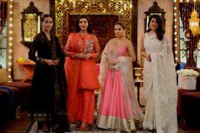 Actress Ayesha Omar's Pictures in Morning Show of Nida Yasir (1)