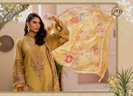 Unstitched Lawn Catalogue 2021 By Maria B (11)