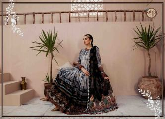 Unstitched Lawn Catalogue 2021 By Maria B (18)