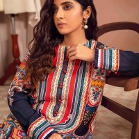 Unstitched Winter Dresses Collection 2021-22 By Limelight