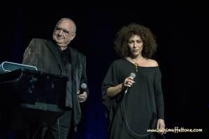 Barbara Bonaiuto e Pino Mauro