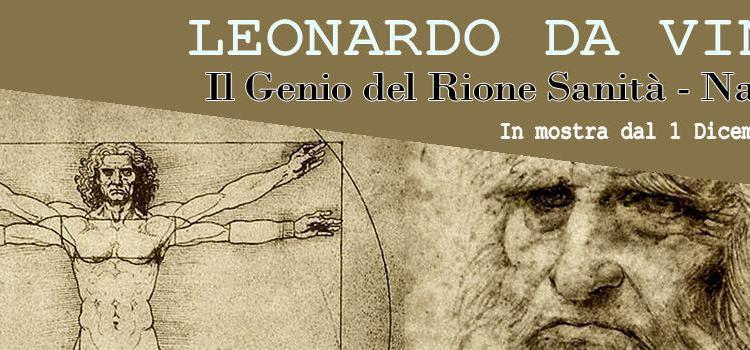E' una mostra interattiva nel Complesso Monumentale Vincenziano, sulla vita, le opere e le macchine del Genio dell'Umanità: Leonardo da Vinci.