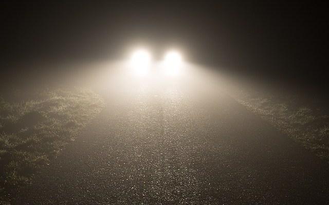 nebbia a Scafati