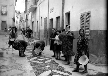 Una fotografia originale dall'archivio di Don Silvestro (per gentile concessione di Alfio Ripanelli)