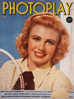 Photoplay May 1939 Ginger Rogers