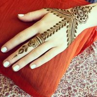 Awesome Girls Arabic Mehndi Designs 2018