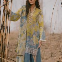 Excllent Beechtree Unstitched lawn Suit 2019