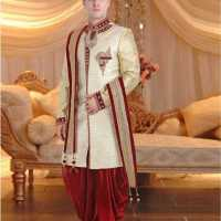 Awesome Dollaha Sherwani Designs 2020 for Men Wedding