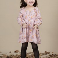 Ladli Kayseria Kids Printed Looking Frock Designs 2020