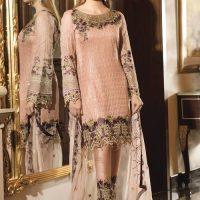 Ramsha Brand Dresses Embroidered chiffon collection 2020