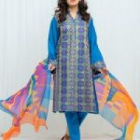 Exclent Unstitched Dress Linen, Khaddar 2020