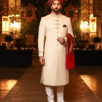 J.Groom Sherwani Designs For Wedding Boys Look 2020
