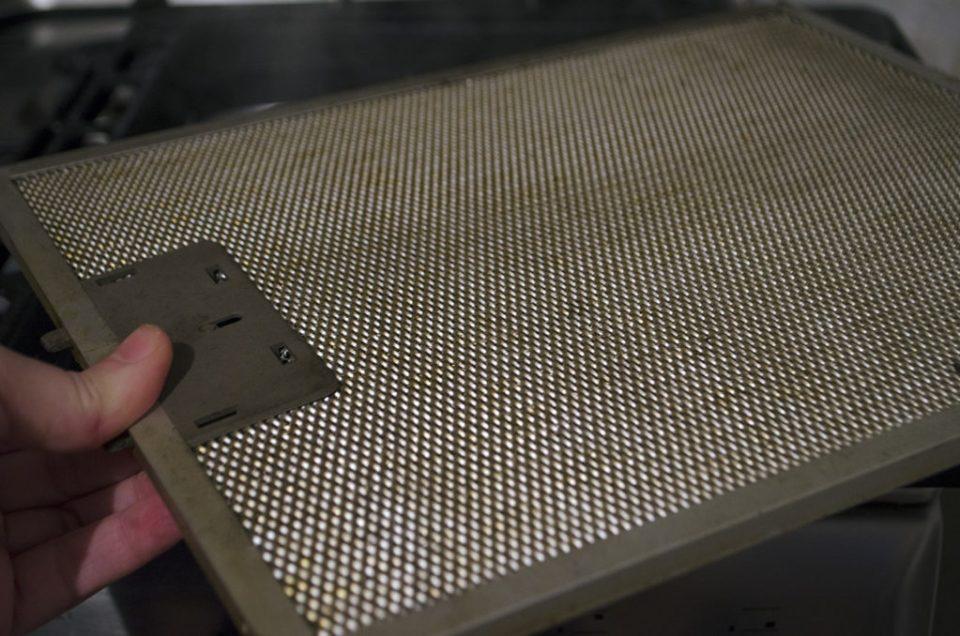 filtre hota curatate cu praf de copt