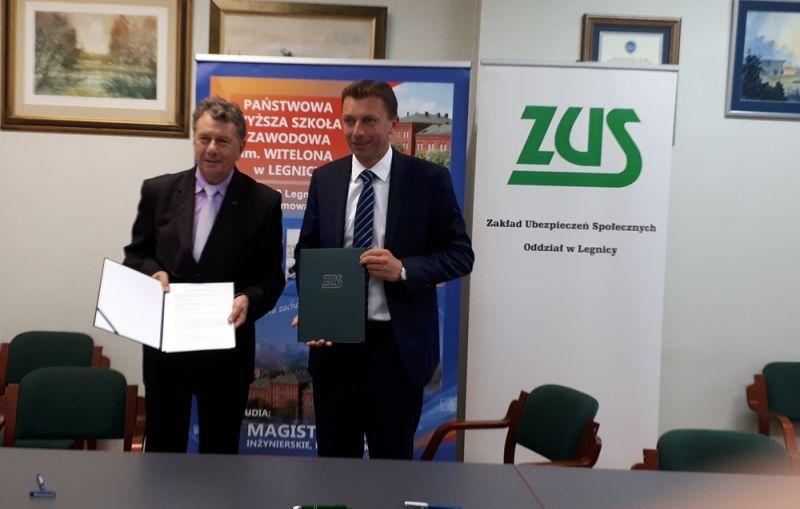 ZUS rozpoczyna współpracę z PWSZ w Legnicy