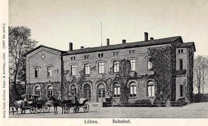 Historia Dworca Kolejowego w Lubinie