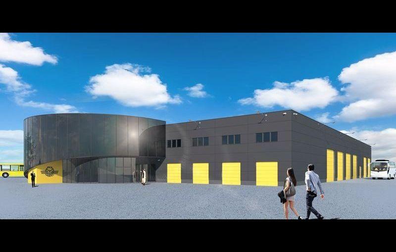 Budowa nowej bazy autobusowej w Lubinie