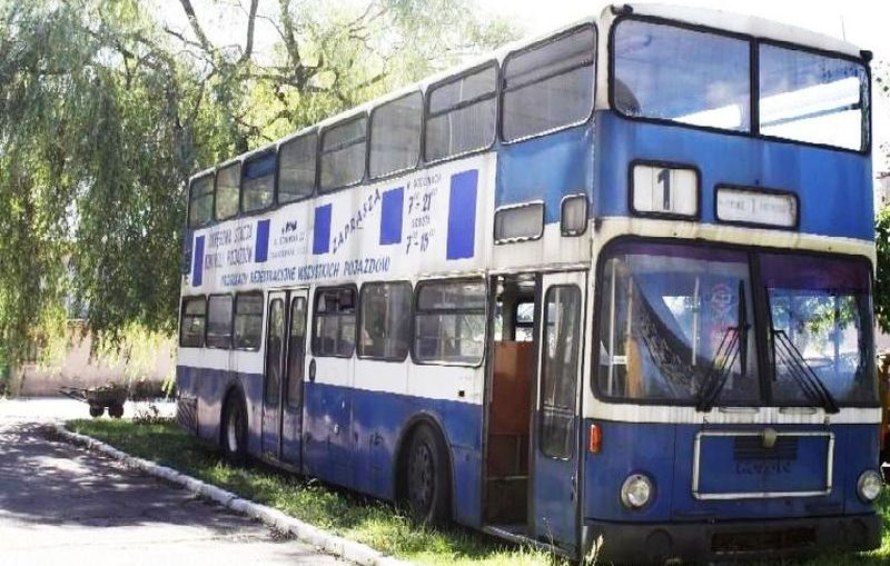 """Lubiński autobus piętrowy-""""Piętruś"""""""