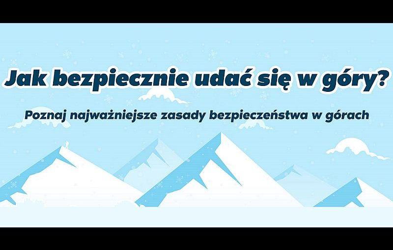 Poznaj zasady bezpieczeństwa w górach i zobacz infografikę