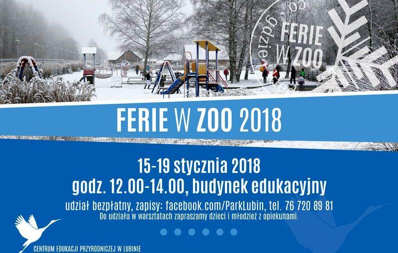 Ferie zimowe 2018 w ZOO Lubin – program