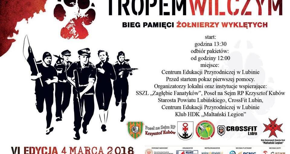 """Tropem Wilczym. Bieg Pamięci Żołnierzy Wyklętych"""" edycja 2018"""