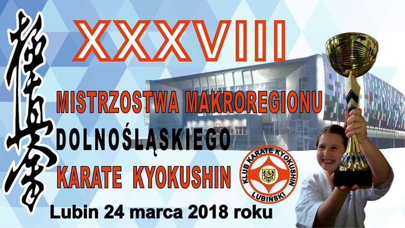 Karate Kyokushin 38. Mistrzostwa Makroregionu Dolnośląskiego w Lubinie