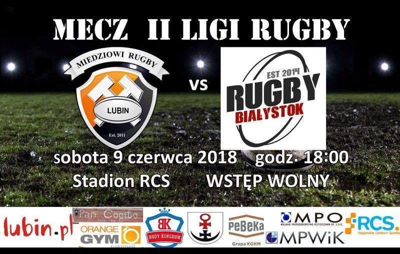 Miedziowi Lubin – Rugby Białystok