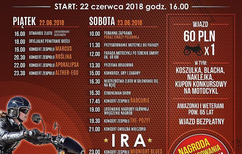 XIII Otwarty Zlot Motocyklowy Rudna - Gwizdanów