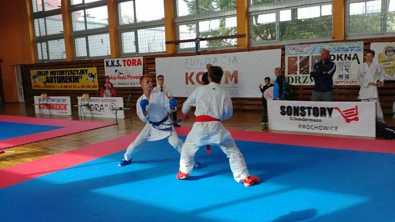 XVIII Ogólnopolski Turniej Dzieci i Młodzieży w Karate – Prochowice 2018