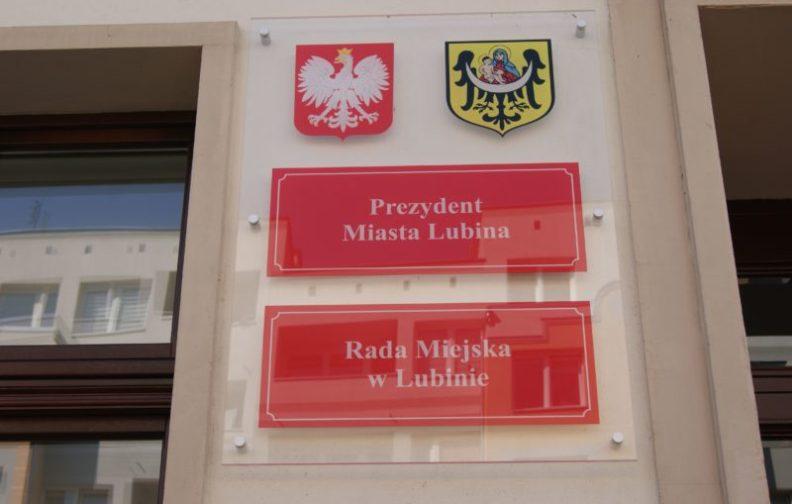 Sesja Rady miejskiej w Lubinie