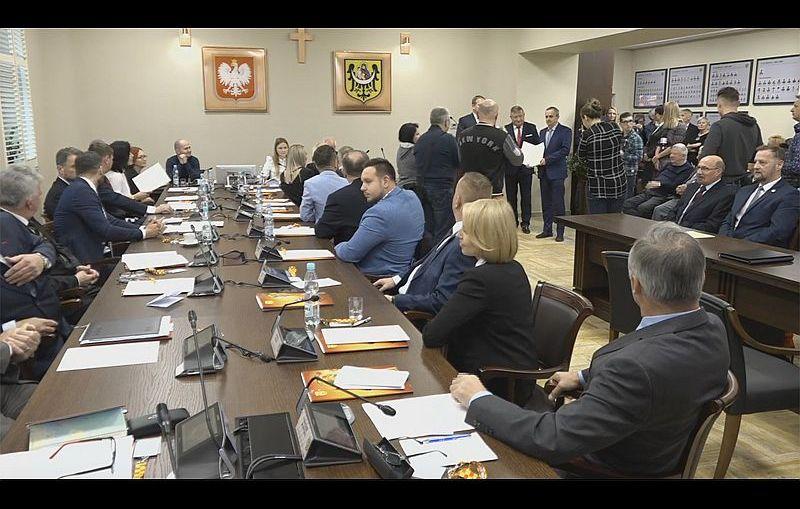 Lubin. Pierwsza sesja w nowej kadencji Rady Miejskiej