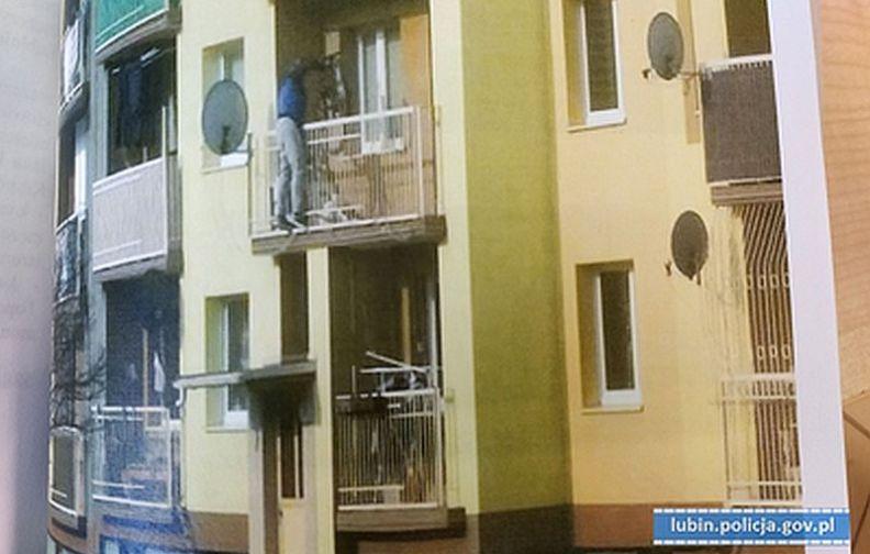 Wspinał się po balkonach i kradł rowery. Usłyszał 23 zarzuty