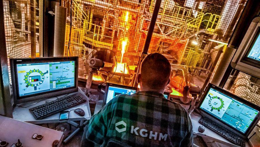 Największa inwestycja w historii należącej do KGHM Huty Miedzi Legnica