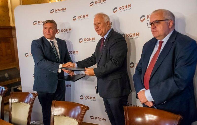 KGHM przekaże 300 tys. zł na wsparcie zdrowia mieszkańców Legnicy
