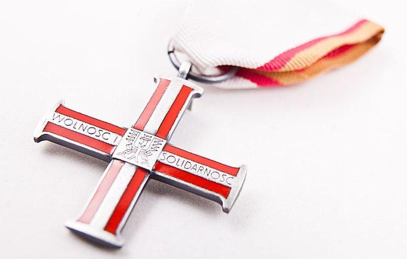 Uroczystość wręczenia odznaczeń państwowych – Krzyży Wolności i Solidarności