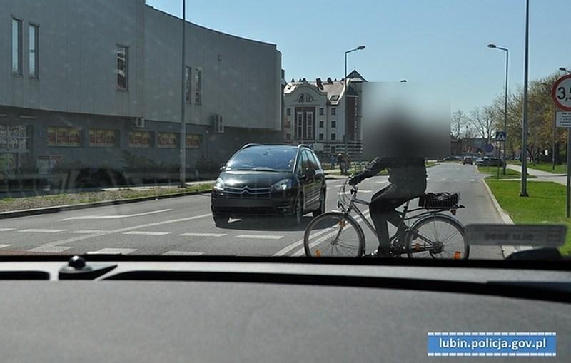 Działania lubińskich policjantów na rzecz bezpieczeństwa osób pieszych
