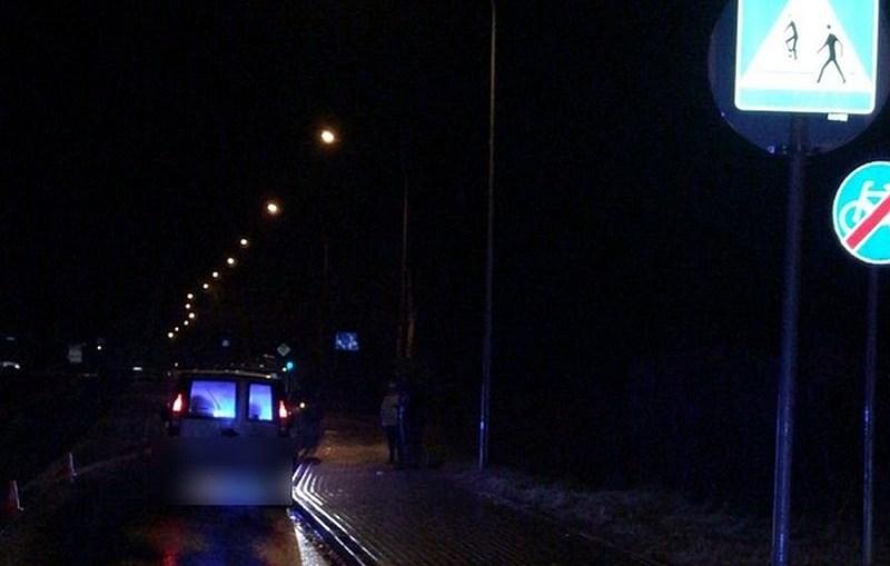Potrącenie na przejściu dla pieszych. Policjanci apelują o ostrożność!