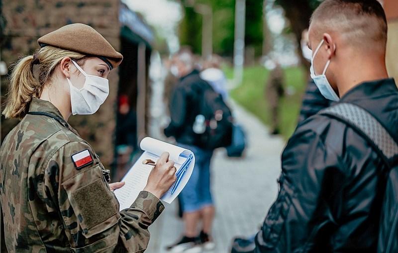 Kolejni ochotnicy już na poligonie w Żaganiu
