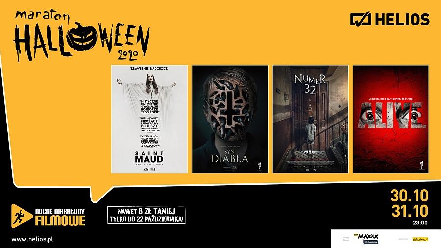 Maraton Halloween w kinie Helios w Lubinie 30 i 31