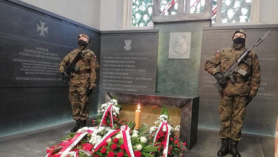 Terytorialsi uczcili pamięć żołnierzy Armii Krajowej w 79. rocznicę powstania AK