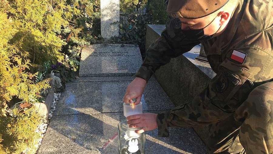 Dolnośląscy Terytorialsi oddali hołd Żołnierzom Wyklętym