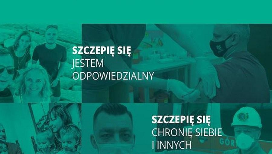 KGHM prowadzi kampanię zachęcającą do szczepień pracowników miedziowej spółki